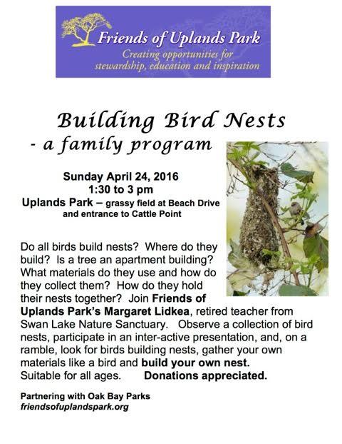 FOUP Building Bird Nests April 24-2016 index