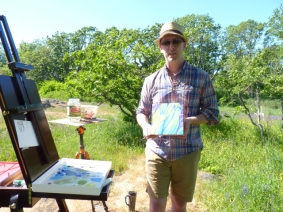 Art Inspired by Uplands Park