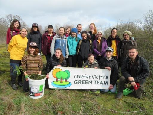 Cattle Point Victoria Green Team Bur Chervil work3